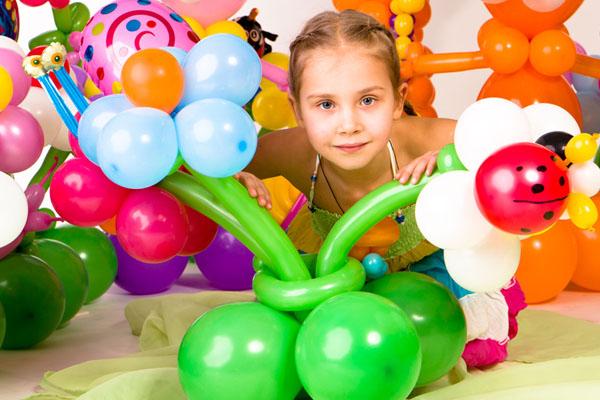Luftballonk�nstler, Luftballontiere, Luftballonfiguren, Kinderbetreuung